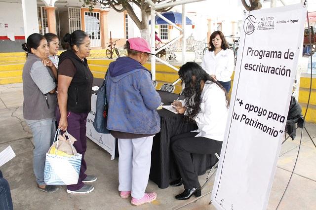 Escrituración a bajo costo en San Pedro Cholula