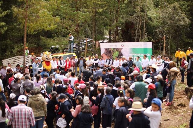 En Jornada de Reforestación Social participan delegaciones federales