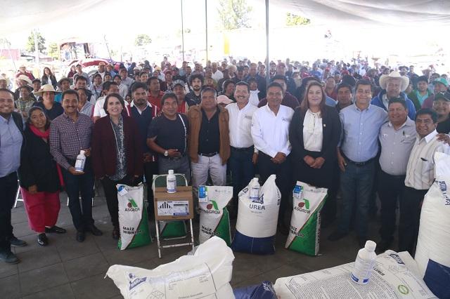 Triplica gobierno de San Pedro apoyo a productores agrícolas
