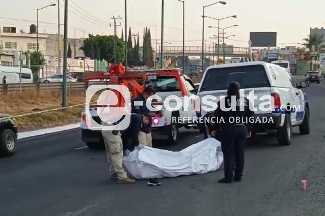 Mujer muere atropellada en la Vía Corta a Santa Ana