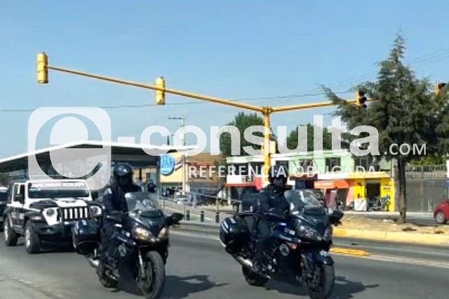 Dan último adiós a mujer policía municipal de Puebla