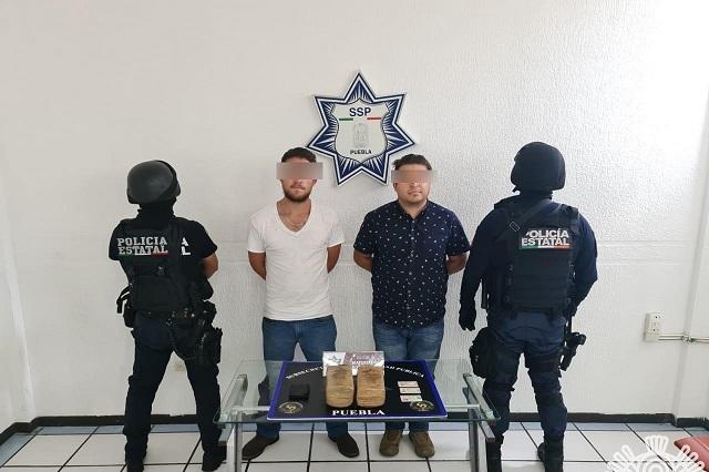 Ocultaban droga en un tráiler sobre la México-Puebla