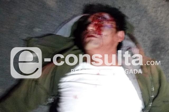 Intenta asaltar Ruta 25 y termina golpeado y semidesnudo en Puebla