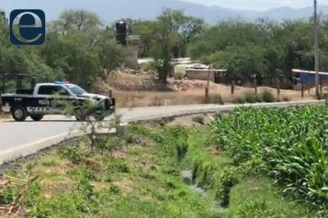 Matan a presunto ladrón en paraje de Tehuacán