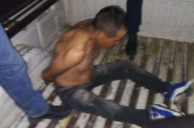 Casi paga con la vida haber robado en San Salvador El Verde