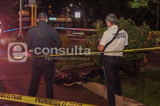 Hombre muere atropellado por transporte público en la 11 Sur