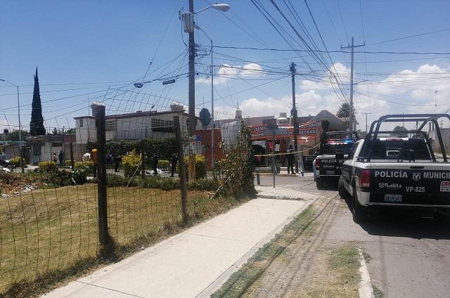 Ciclista muere sobre la vía pública en Lomas de Castillotla