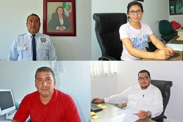 Nuevos nombramientos en el gobierno de San Martín Texmelucan