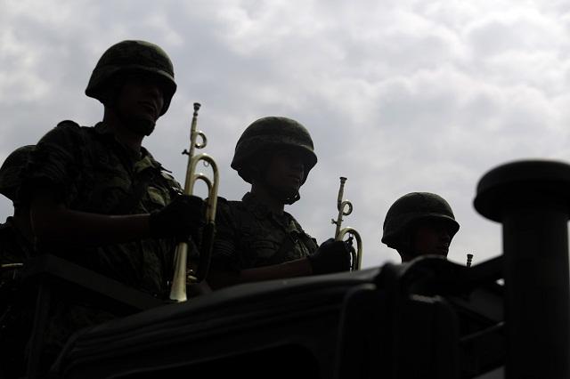 Instala Ejército base en Amozoc para combatir al huachicol