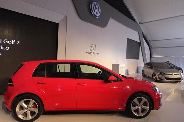 Anuncia VW paro en la producción del Golf para marzo