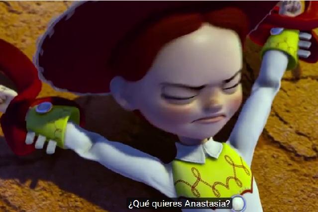 Parodian en YouTube 50 Sombras Más Oscuras con Toy Story