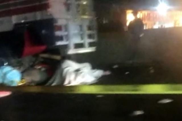 Derrapan en moto y mueren arrollados en la México-Puebla