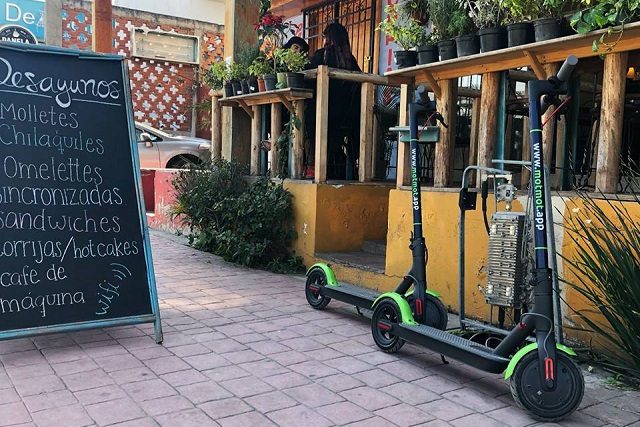Ahora rentarán monopatines en Puebla, aunque falta regularlos