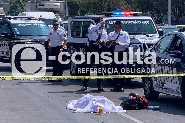 Ruta M21 atropella y mata a mujer mayor frente a Plaza Tolín