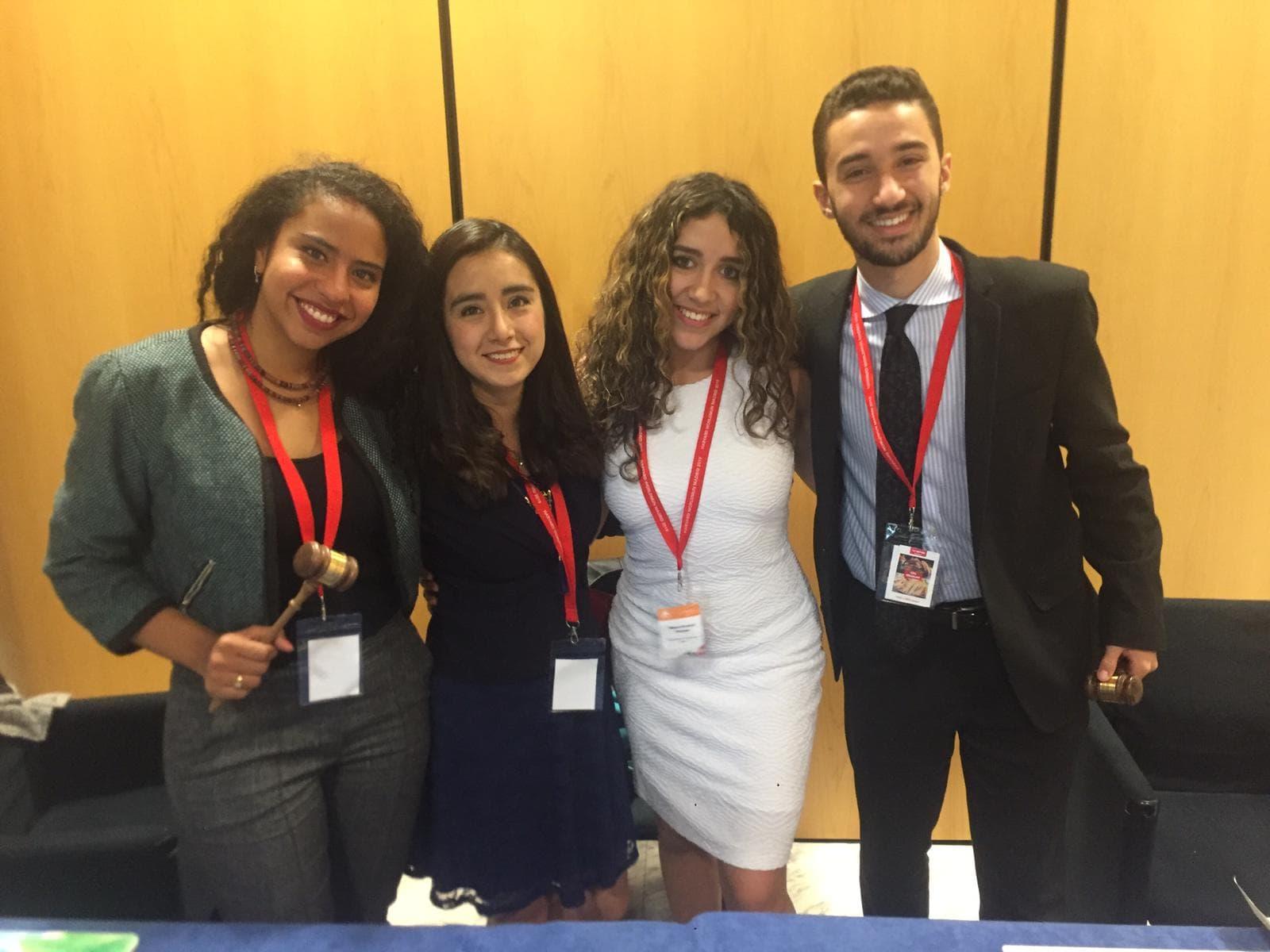 Estudiante UPAEP presente en modelo Harvard de Nacionales Unidas