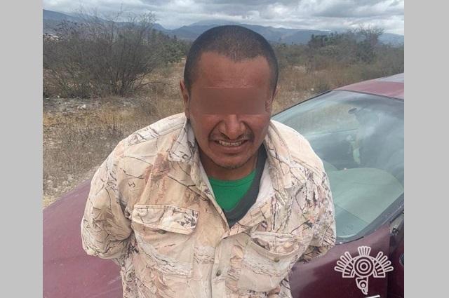 Cae en Tehuacán líder de la banda delictiva Los Cholos