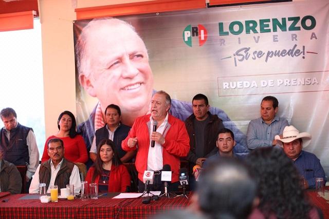Inicia Lorenzo Rivera gira por el interior del estado