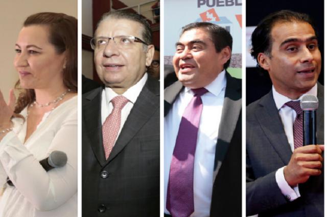 Debate el 13 de junio, acuerdan candidatos a la gubernatura