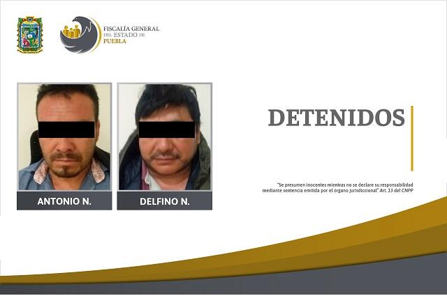 Presos, 2 detenidos en cateos en ranchos de Quecholac