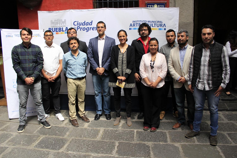 Presenta IMACP a becarios del programa Innovación Artística