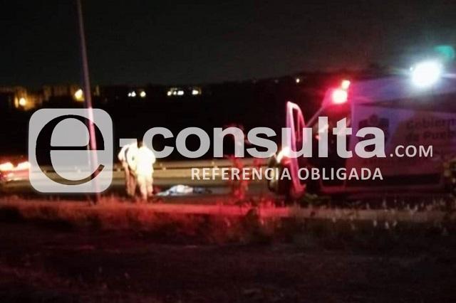 Mueren dos hombres atropellados en carreteras de Puebla