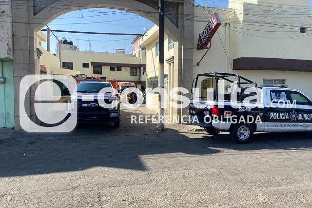 Adolescente muere en hotel de Puebla; FGE indaga causas