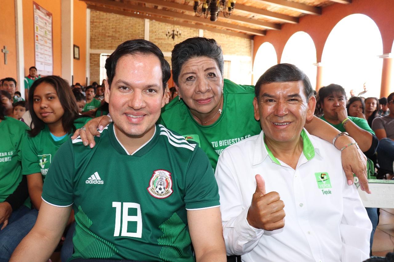 Con entusiasmo por servir a Tehuacán, vamos a las urnas: Tepole y Kuri