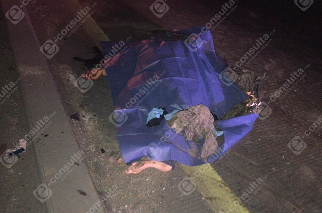 Muere atropellado al intentar cruzar en la México- Puebla