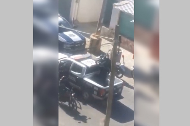 Tras balacera caen ladrones de vehículo en Texmelucan