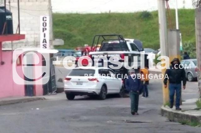 En persecución y balacera detienen a asaltante en Puebla