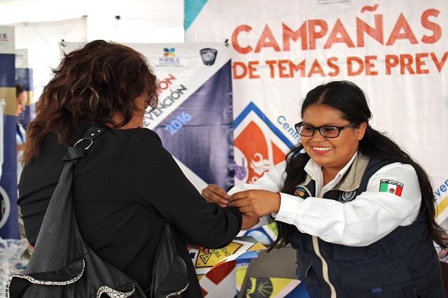 SGG y Ayuntamiento de Puebla van juntos en Caravana Puebla Segura