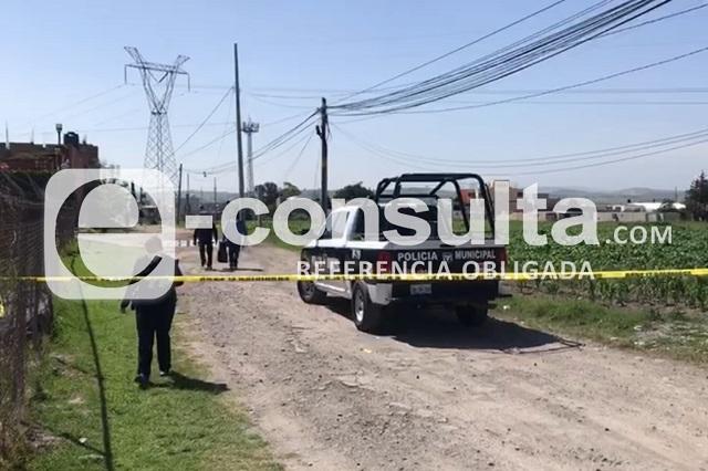 Lo asesinan con disparo en la cabeza, en Totimehuacán