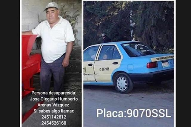 Hallan decapitado a taxista desaparecido en Serdán