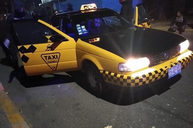 Matan a balazos a taxista en Santa Clara Ocoyucan