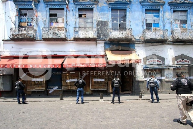FGE mantiene sitiada la  Maldita Vecindad tras operativo