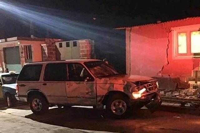 Motociclista muere embestido por camioneta en Teotlalcingo