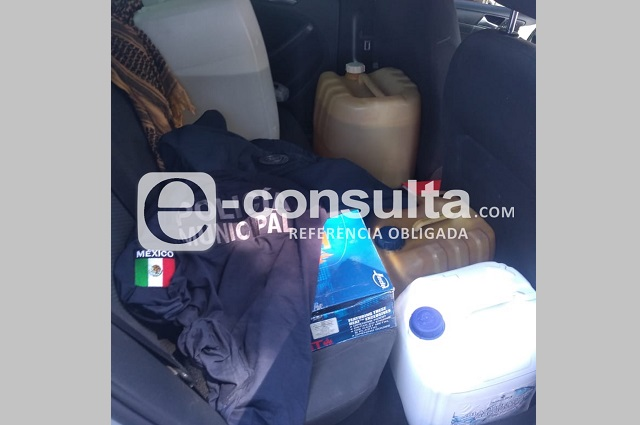 Exculpan y liberan a policía de Puebla detenido con dinero y combustible