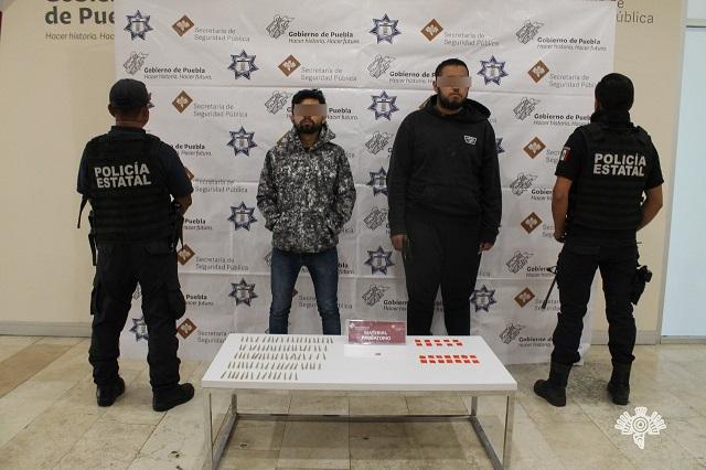 Caen 6 narcomenudistas en diferentes puntos de Puebla
