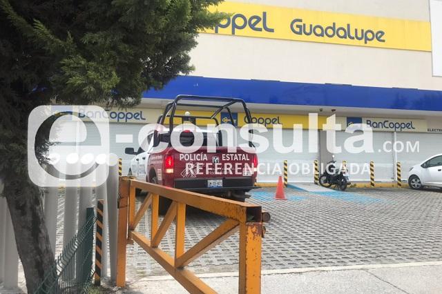 Comando asalta Coppel en Puebla y se lleva teléfonos