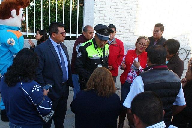"Gobierno capitalino inicia dispositivo ""Camino a clases seguro"""