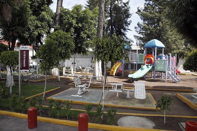 Rehabilitan imagen urbana de presidencias auxiliares de Puebla