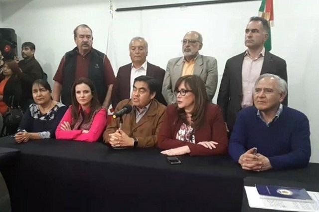 Morena lanza otra vez a Barbosa como candidato por Puebla