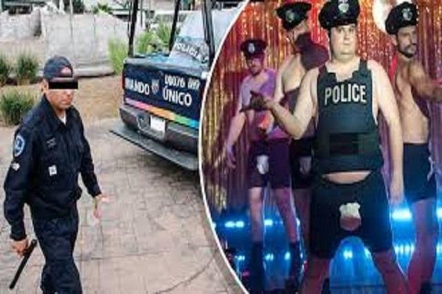 Policía acude por ruido a una fiesta gay y lo toman por striper