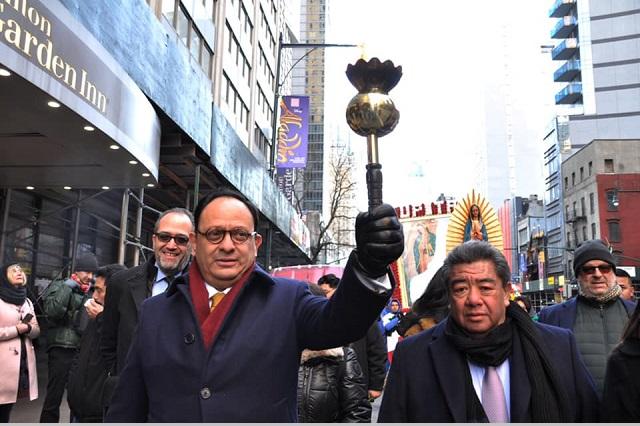 Barbosa, el primero que envió apoyo a paisanos en NY: cónsul