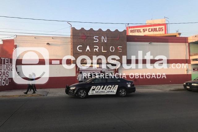 Discute con su expareja y se suicida en hotel de Puebla