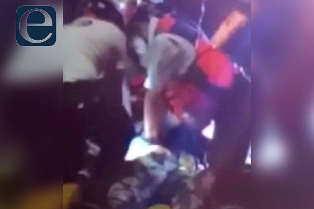 Mujer en moto muere en bulevar Hermanos Serdán