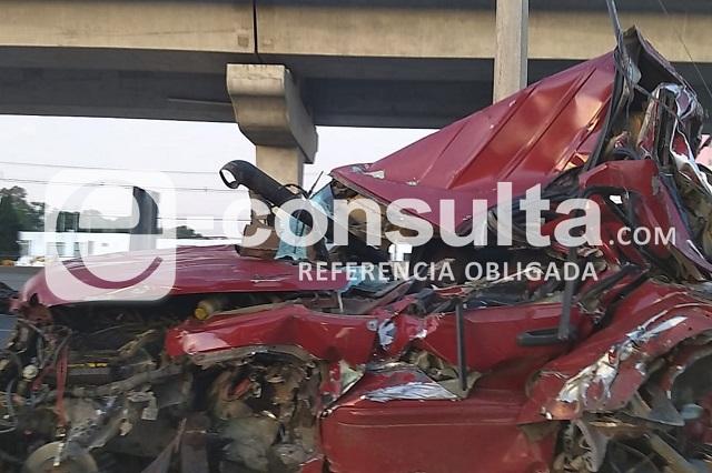 Muere atropellado operador de grúa en la México-Puebla