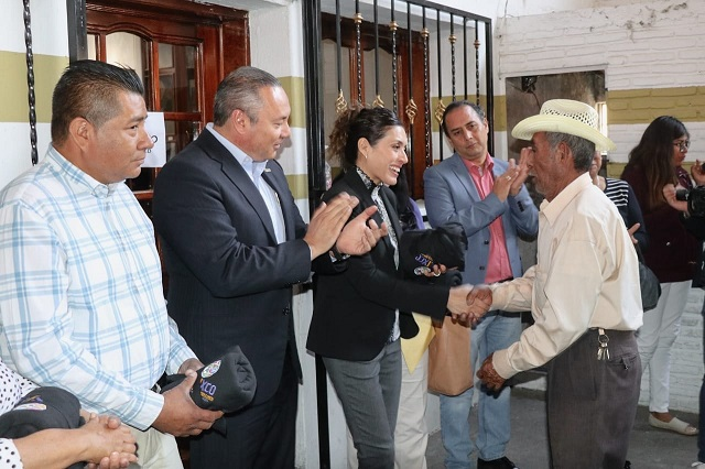 DIF Atlixco abriga a abuelitos de La Magdalena Axocopan
