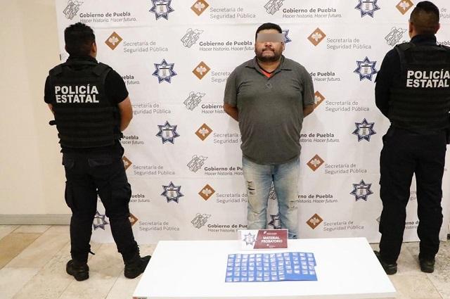 Detienen a 2 narcomenudistas ligados a crímenes en Puebla y Veracruz