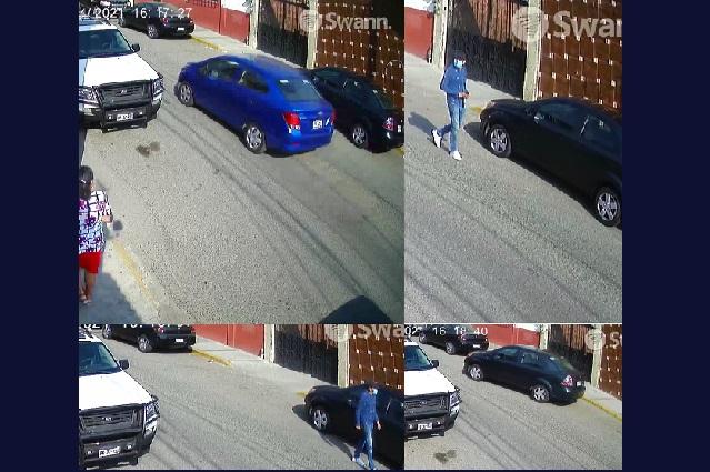 Video: roban auto en menos de 2 minutos en Zaragoza